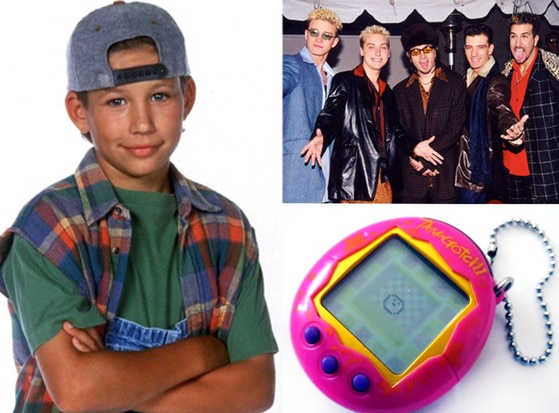 E! Loves: The 90's, Jonathan Taylor Thomas,Tamagotchi, N'Sync