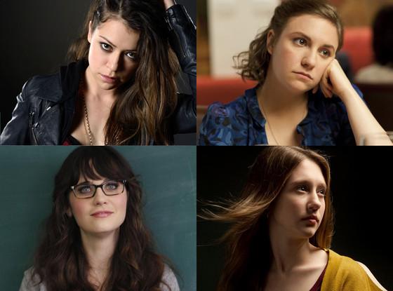 Tatiana Maslany, Orphan Black, Zooey Deschanel, New Girl, Taissa Farmiga, AHS, Coven, Lena Dunham, Girls
