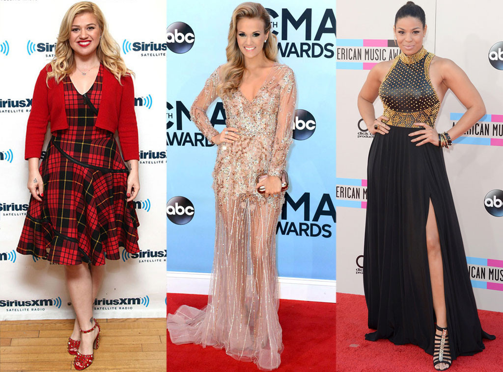 Kelly Clarkson, Carrie Underwood, Jordin Sparks