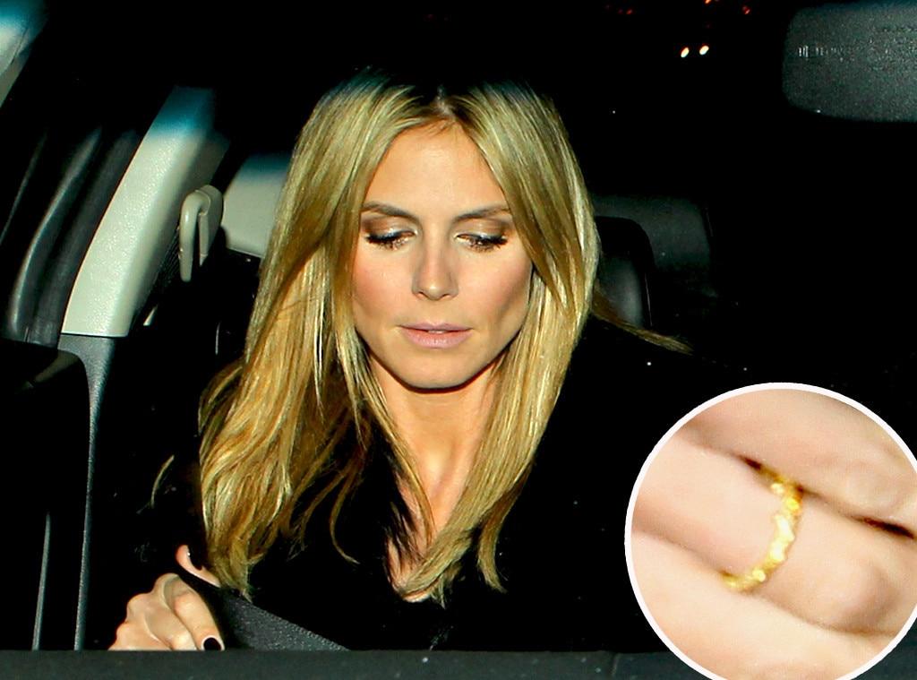 Heidi Klum, Still Wearing Wedding Ring