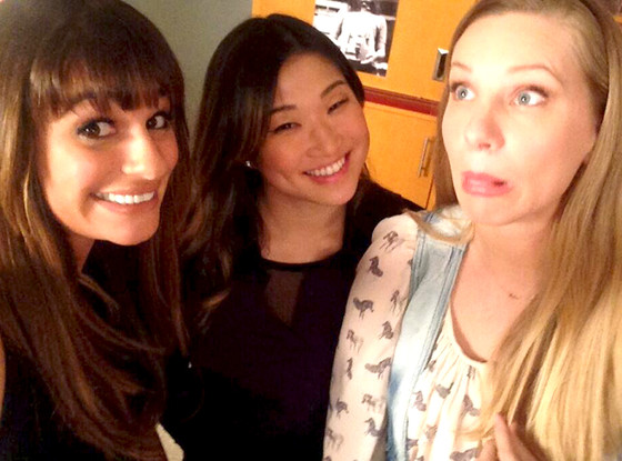 Lea Michele, Jenna Ushkowitz, Heather Morris