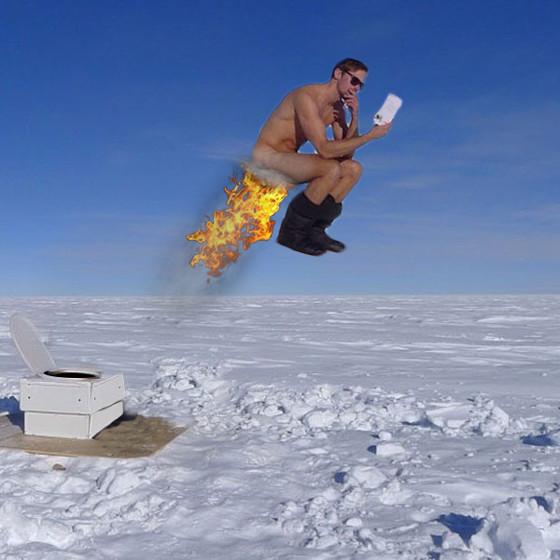 Alexander Skarsgård Naked on a Toilet 3 from Photoshop