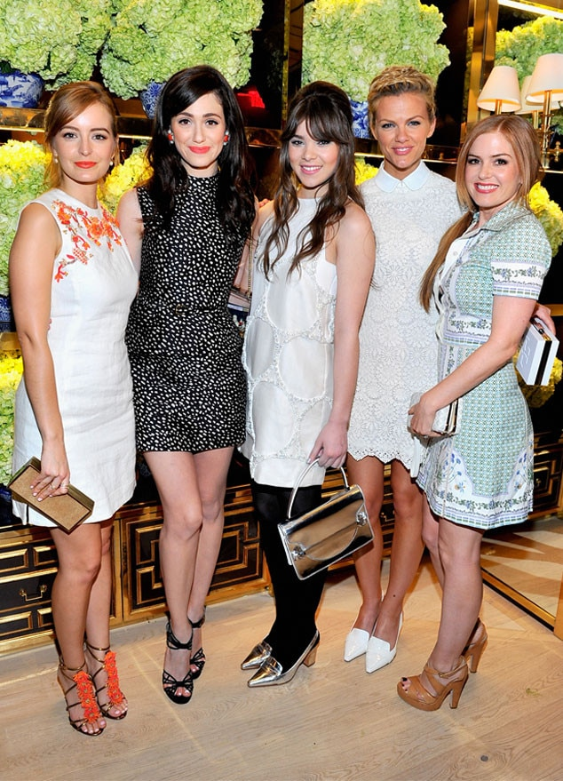 Ahna O'Reilly, Emmy Rossum, Hailee Steinfeld, Brooklyn Decker, Isla Fisher
