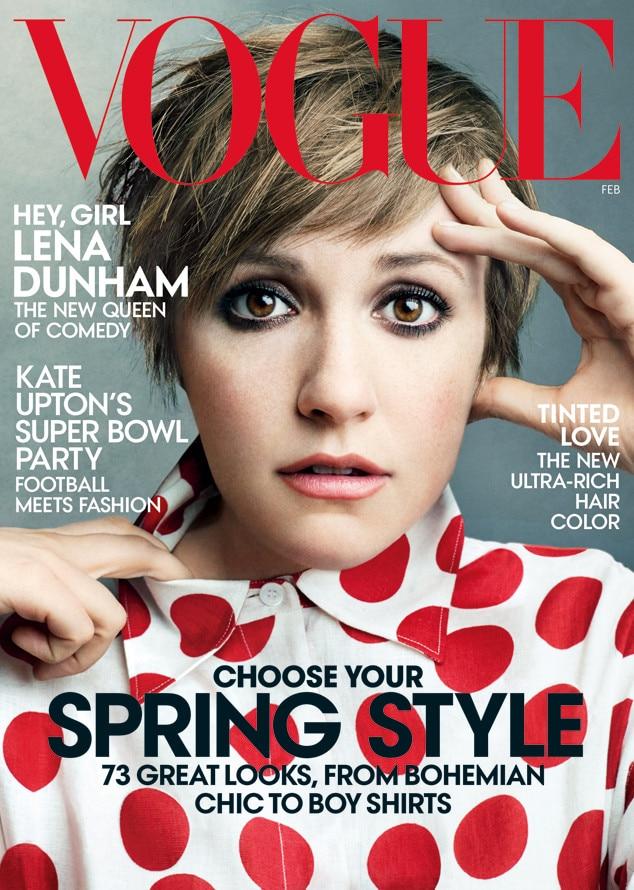 Lena Dunham, Vogue