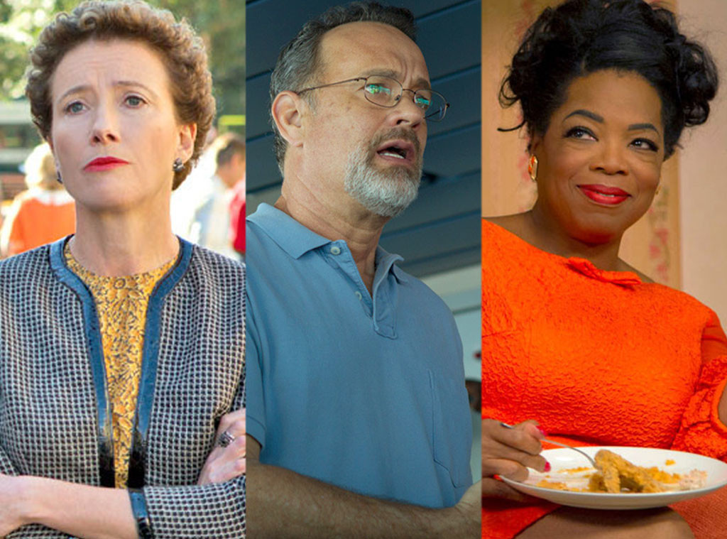 Oscar Snubs, 2014, Emma Thompson, Tom Hanks, Oprah