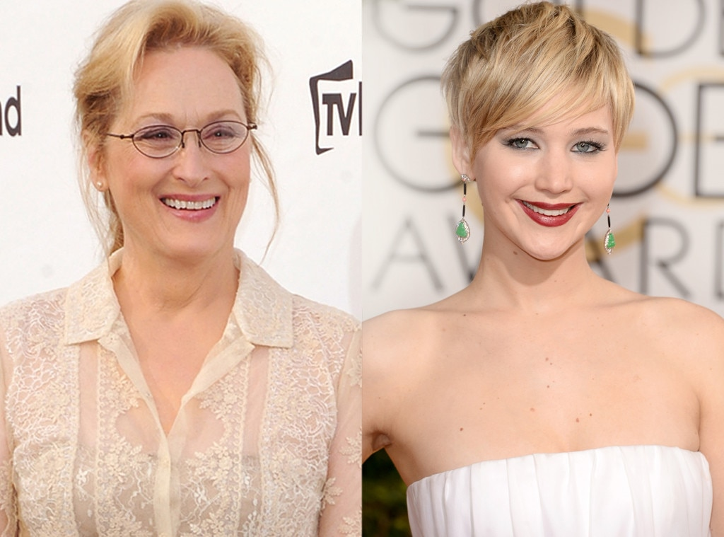 Meryl Streep, Jennifer Lawrence