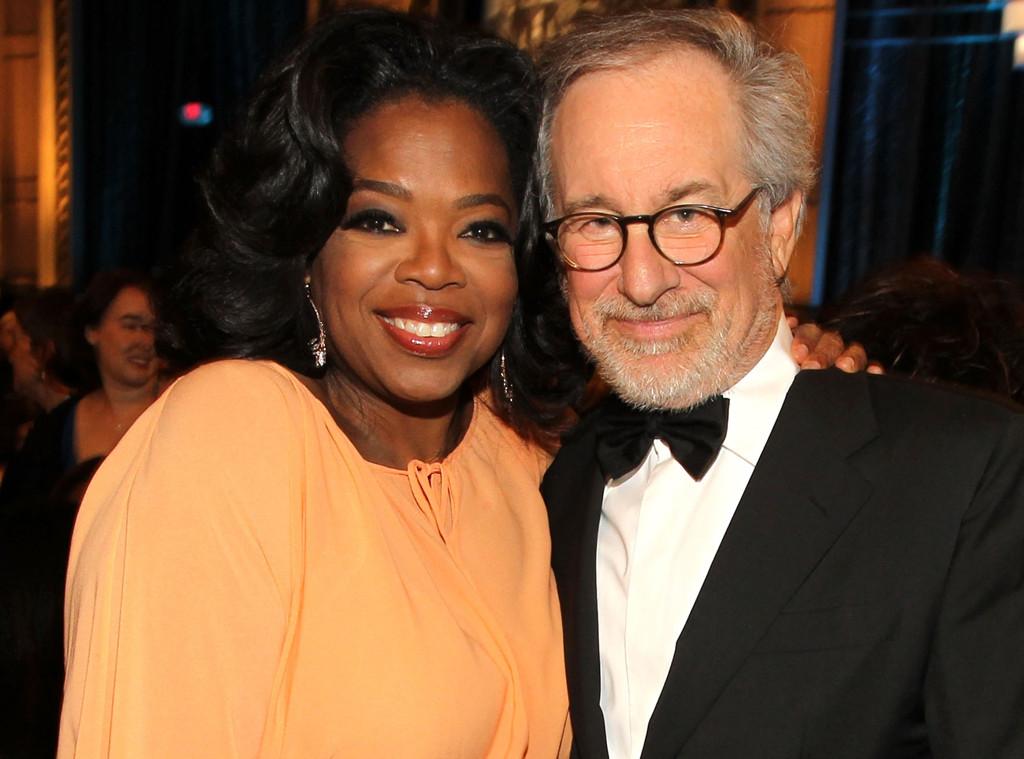 Oprah Winfrey, Steven Spielberg
