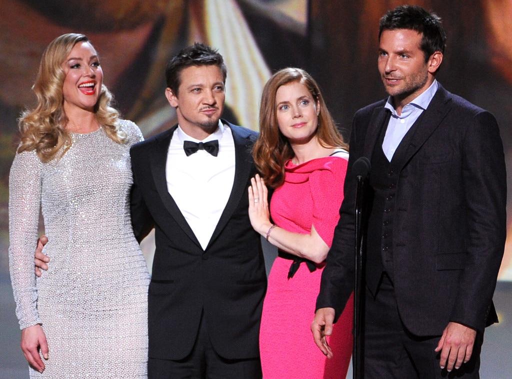 Elisabeth Rohm, Jeremy Renner, Amy Adams, Bradley Cooper, American Hustle