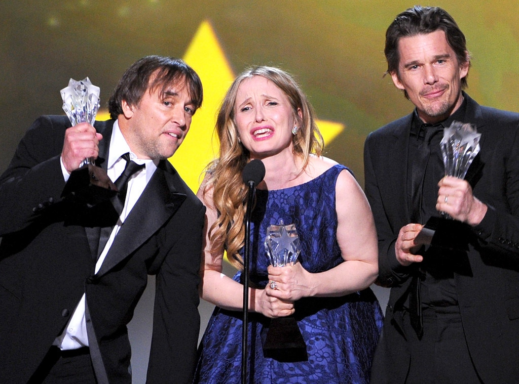 Richard Linklater, Julie Delpy, Ethan Hawke, Critics' Choice Movie Awards