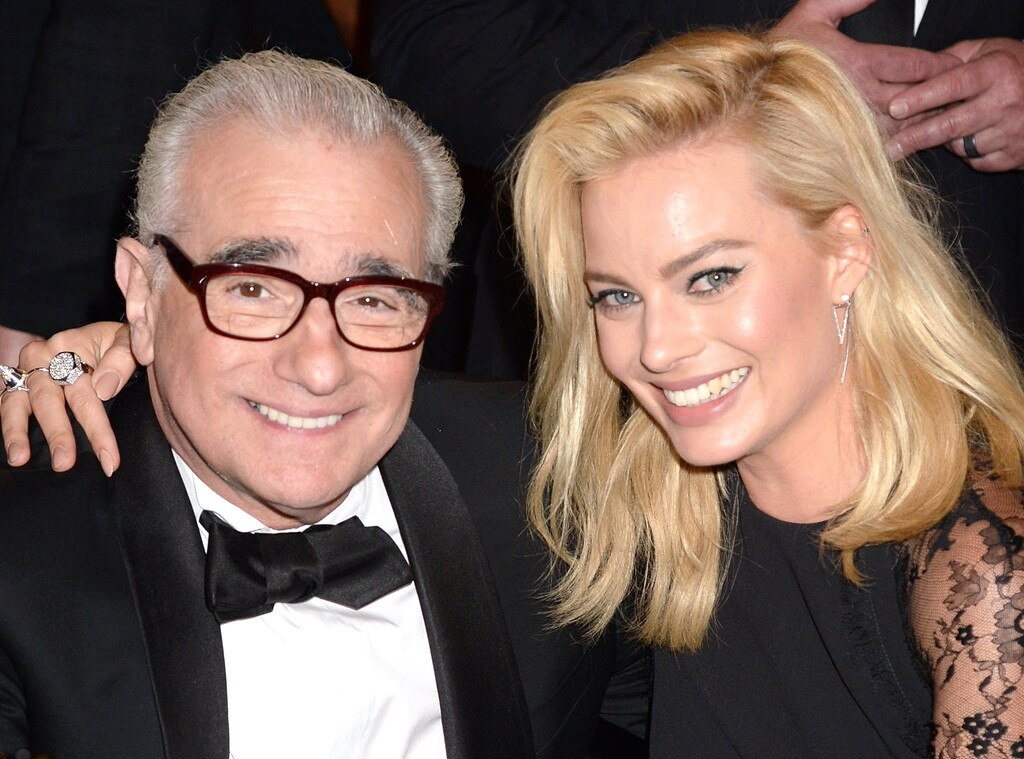 Martin Scorsese, Margot Robbie, Critics' Choice Movie Awards