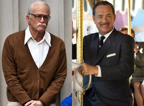 Tom Hanks, Saving Mr. Banks, Johnny Knoxville, Bad Grandpa