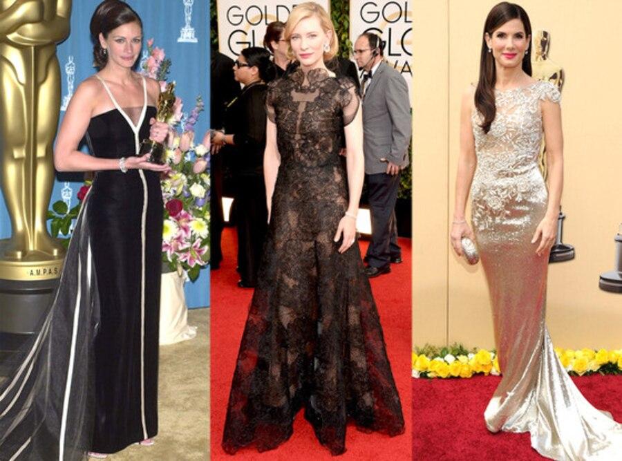 Cate Blanchett, Julia Roberts, Sandra Bullock