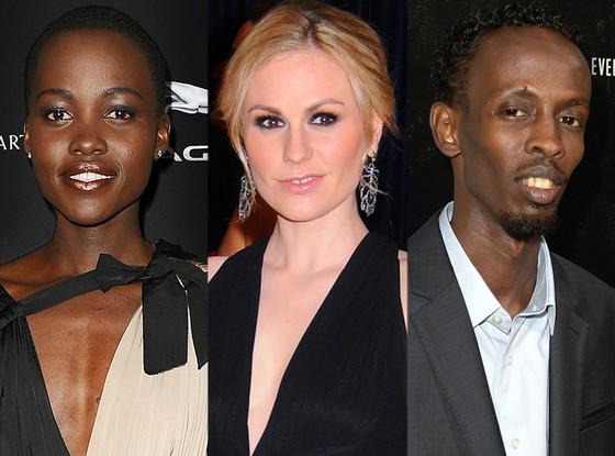 Lupita Nyong'o, Anna Paquin, Barkhad Abdi