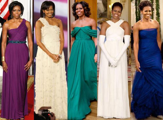 Michelle Obama Dresses