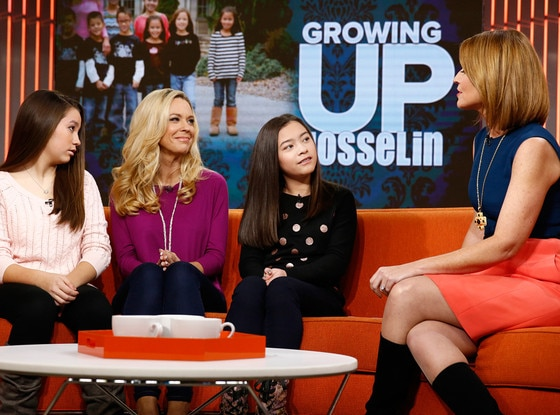 Cara Gosselin, Kate Gosselin, Mady Gosselin, Savannah Guthrie. Today Show
