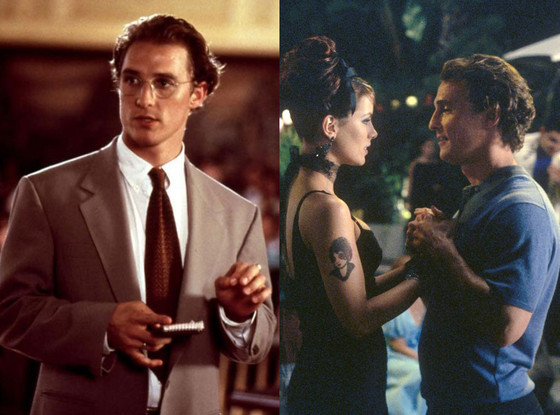 Matthew McConaughey, A Time to Kill, Tiptoes