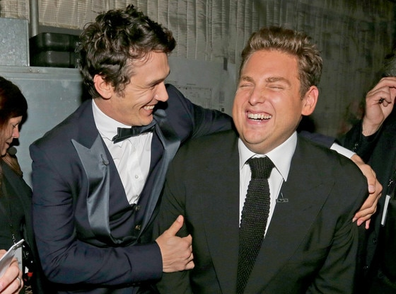 James Franco, Jonah Hill