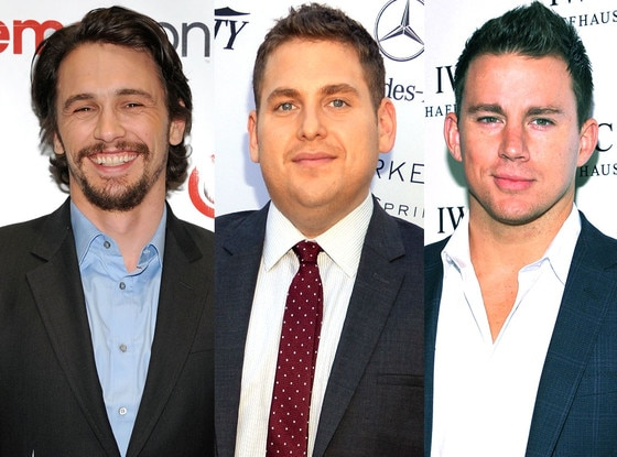 Jonah Hill, Channing Tatum, James Franco