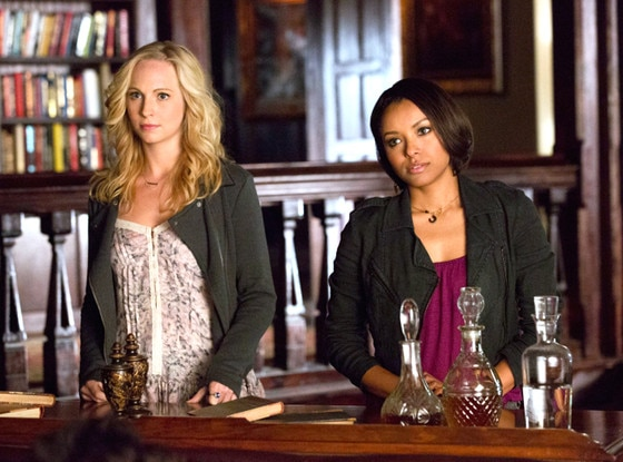 The Vampire Diaries, Candice Accola, Kat Graham