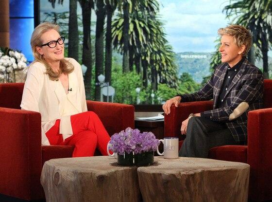 Meryl Streep, Ellen DeGeneres