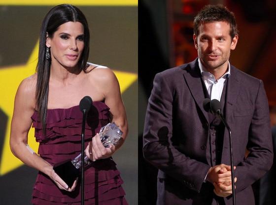 Bradley Cooper, Sandra Bullock, Critics' Choice Movie Awards