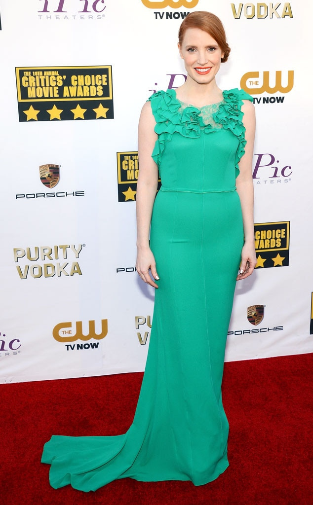 Jessica Chastain, Critics' Choice Movie Awards