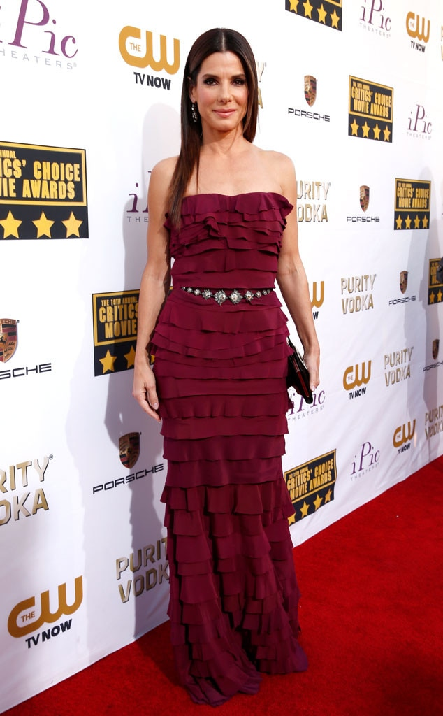 Sandra Bullock, Critics' Choice Movie Awards