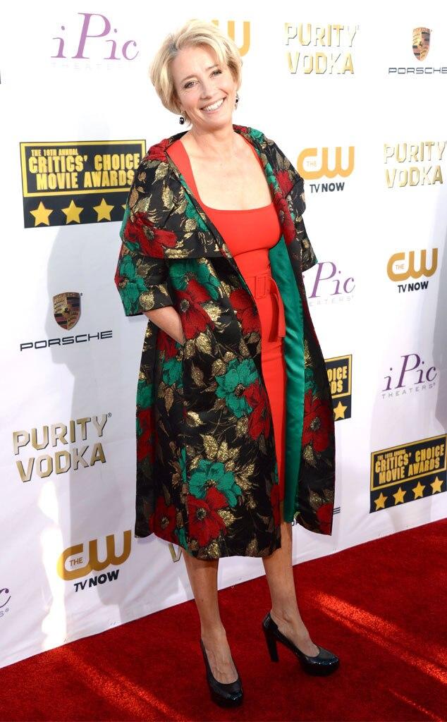 Emma Thompson, Critics' Choice Movie Awards