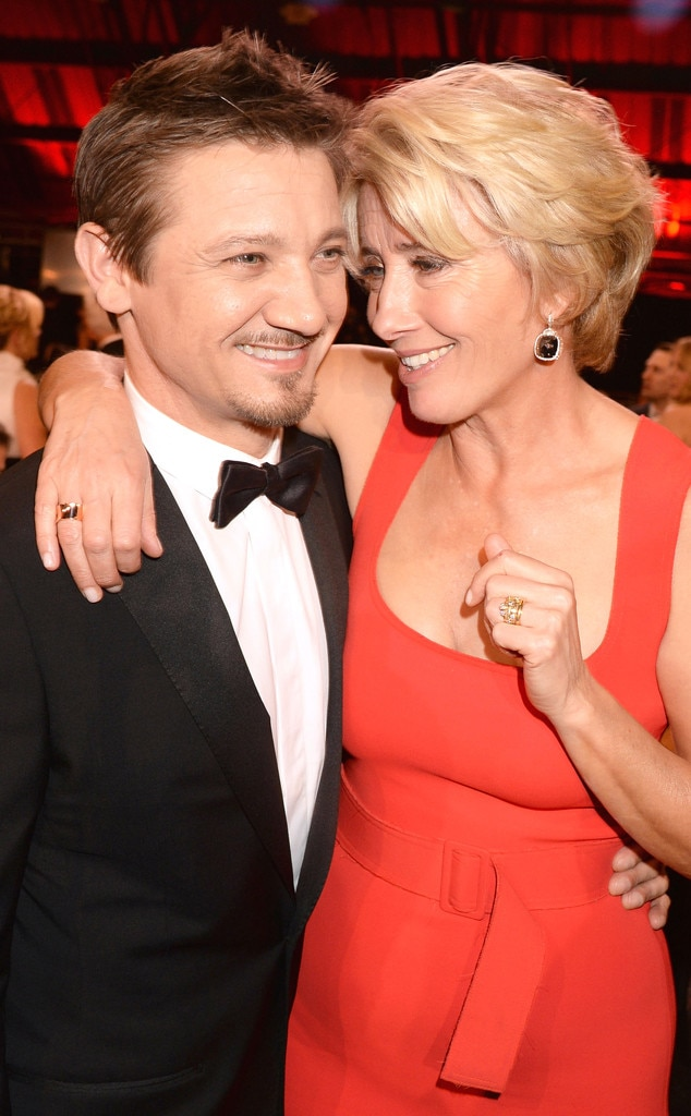 Jeremy Renner, Emma Thompson, Critics' Choice Movie Awards