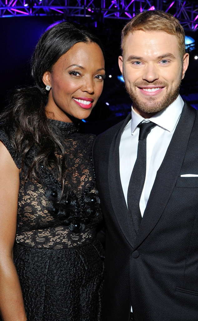Aisha Tyler, Kellan Lutz, Critics' Choice Movie Awards