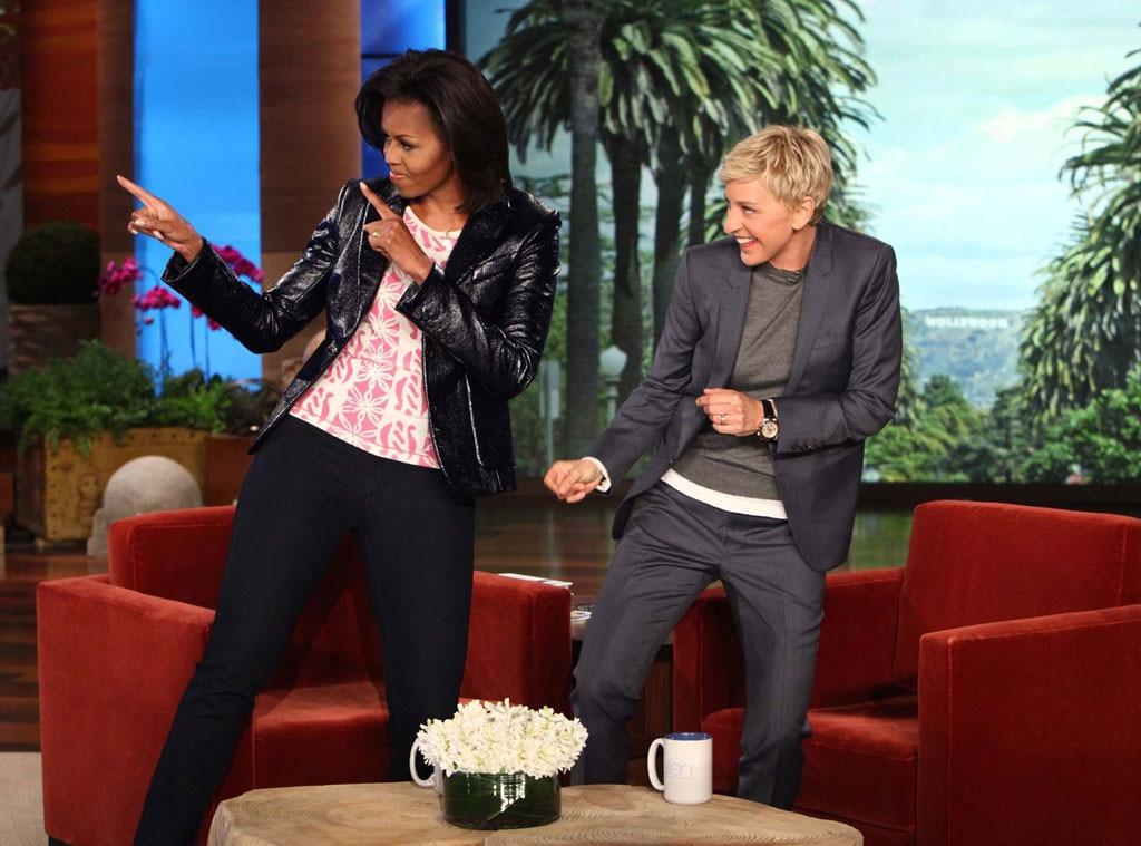 Michelle Obama, Ellen Degeneres Show
