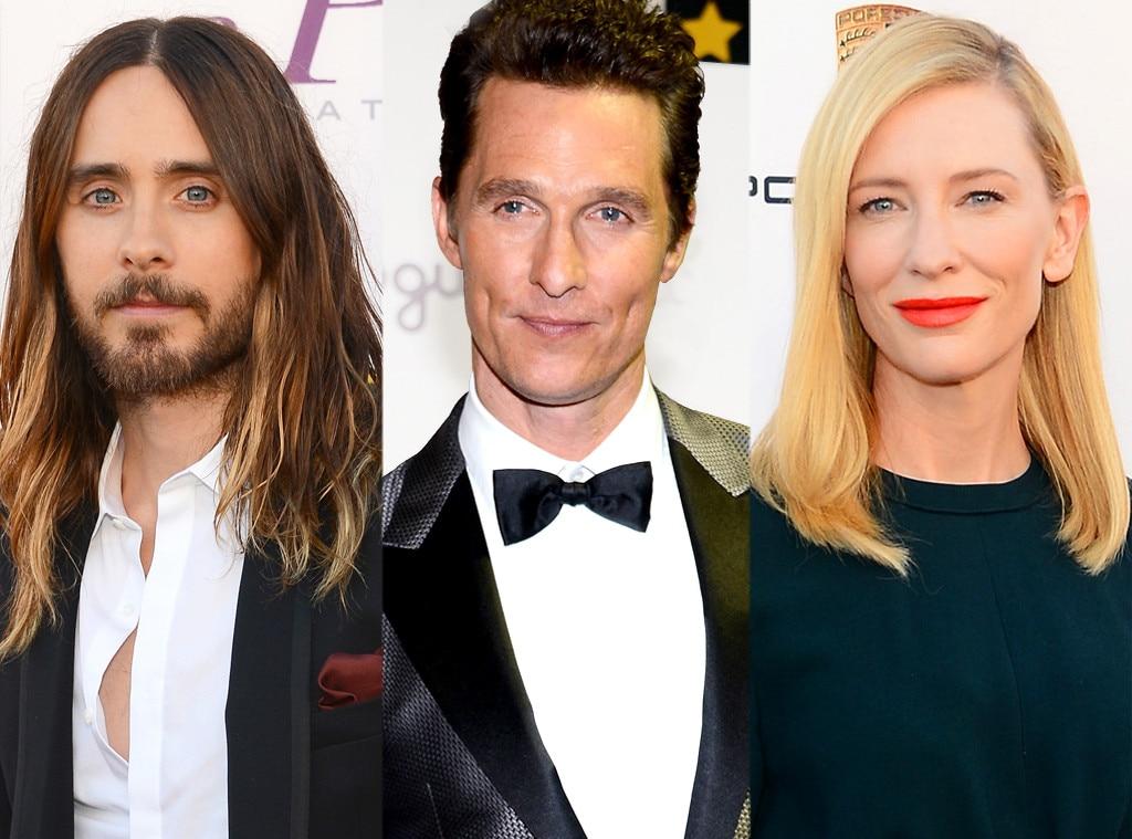 Jared Leto, Matthew McConaughey, Cate Blancett