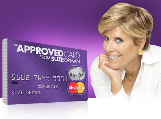 Suze Orman, Approved Card