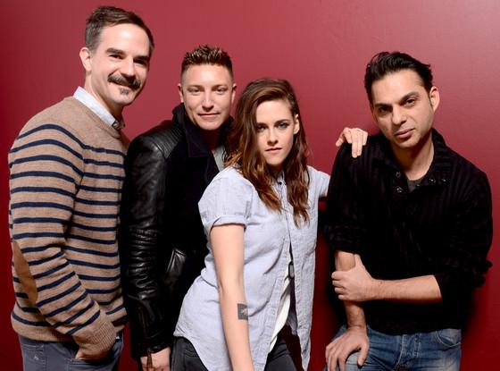 Peter Sattler, Lane Garrison and Kristen Stewart, Payman Maadi, 2014 Sundance Film Festival