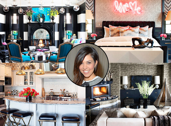 Kourtney Kardashian New House Decor 2014