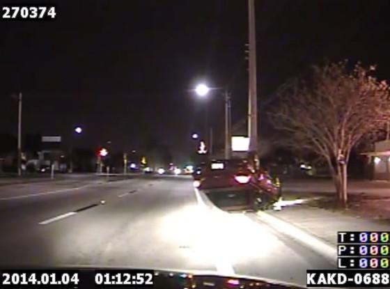Car Flip, Texting Driver