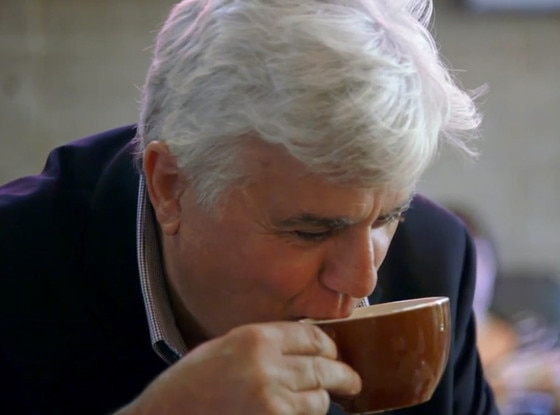 Jay Leno, Jerry Seinfeld, Comedians in Car Getting Coffee