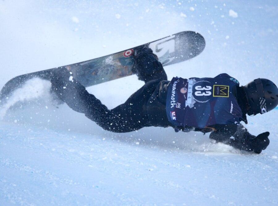Shaun White, Falling