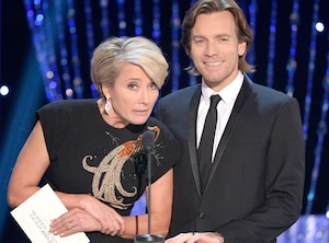 Emma Thompson, Ewan McGregor, SAG Awards