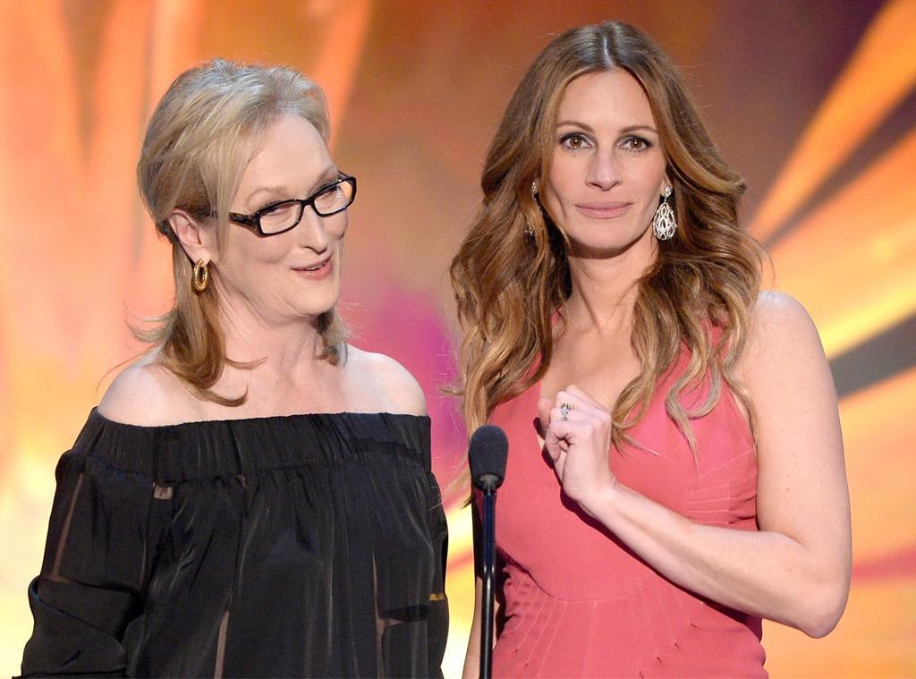 Meryl Streep, Julia Roberts, SAG Awards