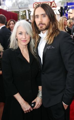 Constance Leto, Jared Leto, SAG Awards