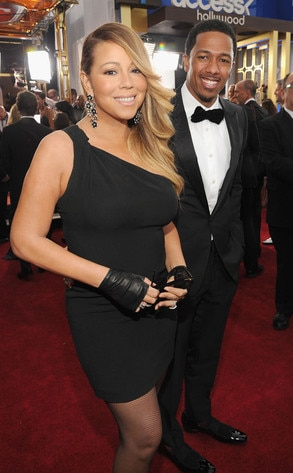 Mariah Carey, Nick Cannon, SAG Awards