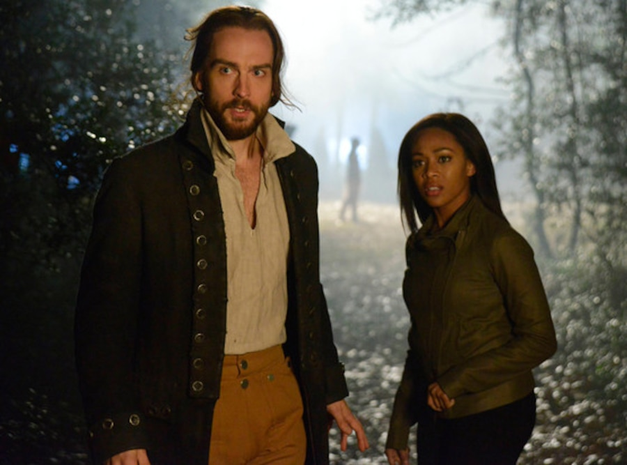 Tom Mison, Nicole Beharie, Sleepy Hollow