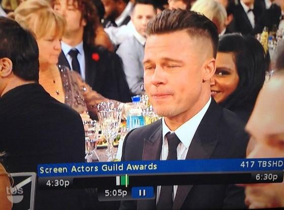 Mindy Kaling, Brad Pitt, Twit Pic