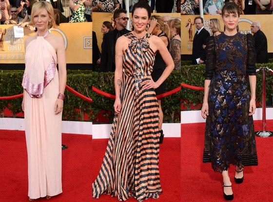 Cate Blanchett, Lena Headey, Amanda Peet,  SAG Awards