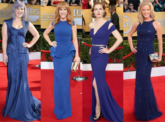 Blue Dresses, SAG Awards