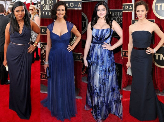 Blue Dresses, SAG Awards