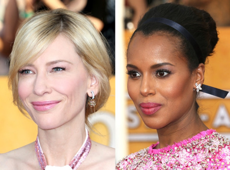 Cate Blanchett, Kerry Washington, SAG Awards