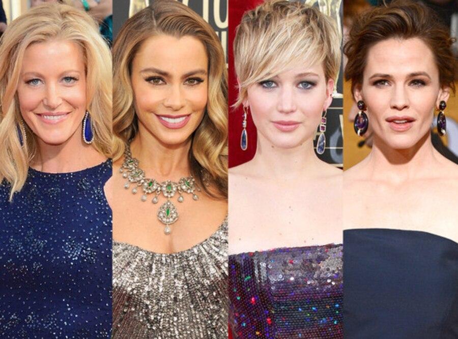 Sofia Vergara, Jennifer Lawrence, Jennifer Garner, Anna Gunn, SAG Awards