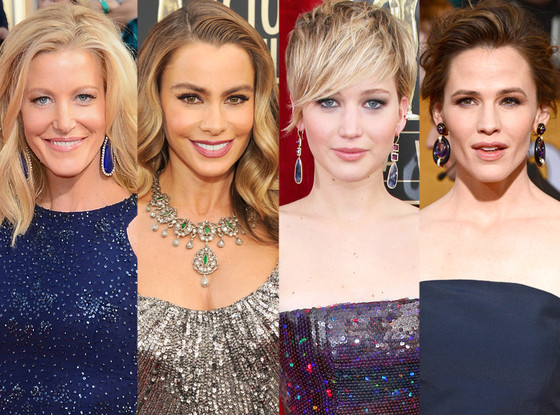 Sofia Vergara, Jennifer Lawrence, Jennifer Garner, Anna Gunn, SAG Awards